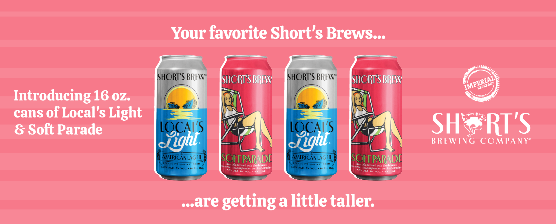 Imperial Beverage Short's Brewing