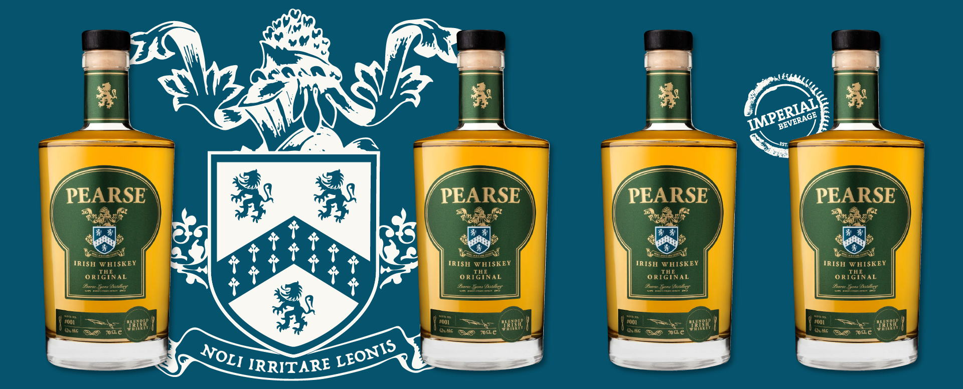 Imperial Beverage Pearse Whiskey