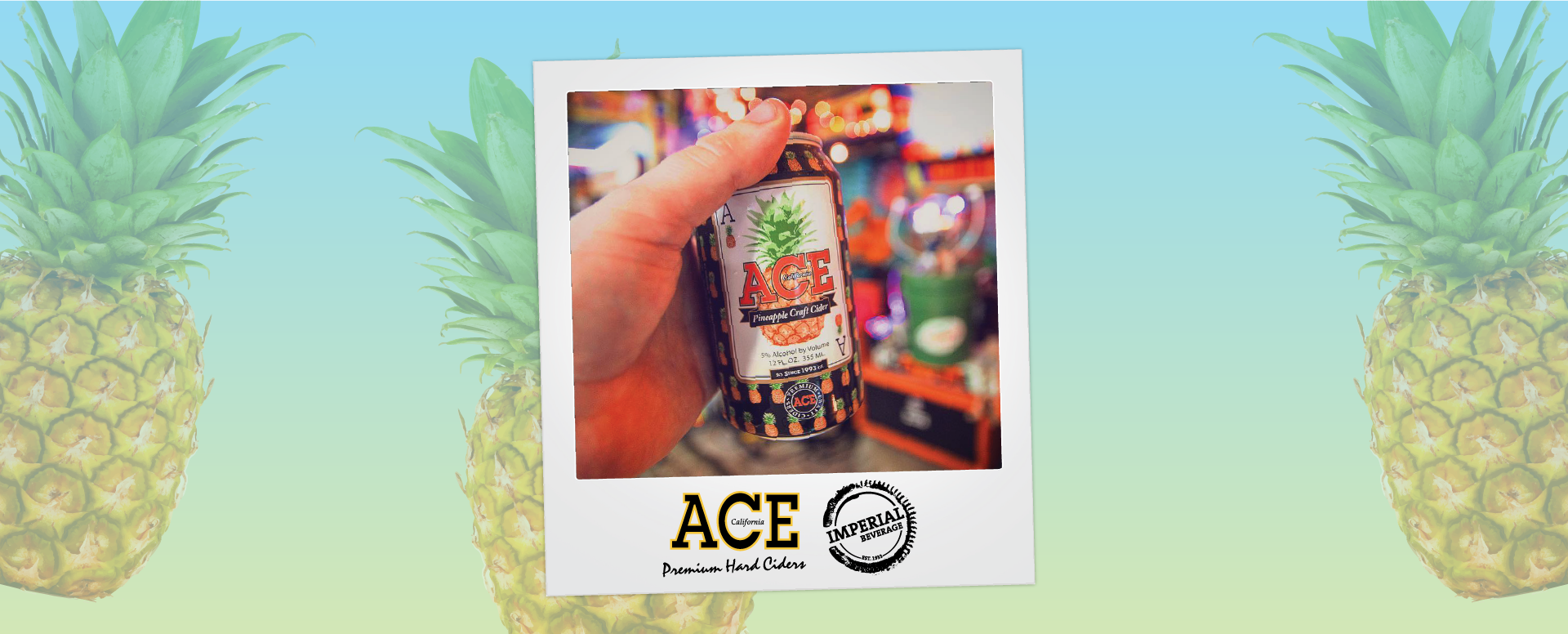Imperial Beverage Ace Cider Pineapple