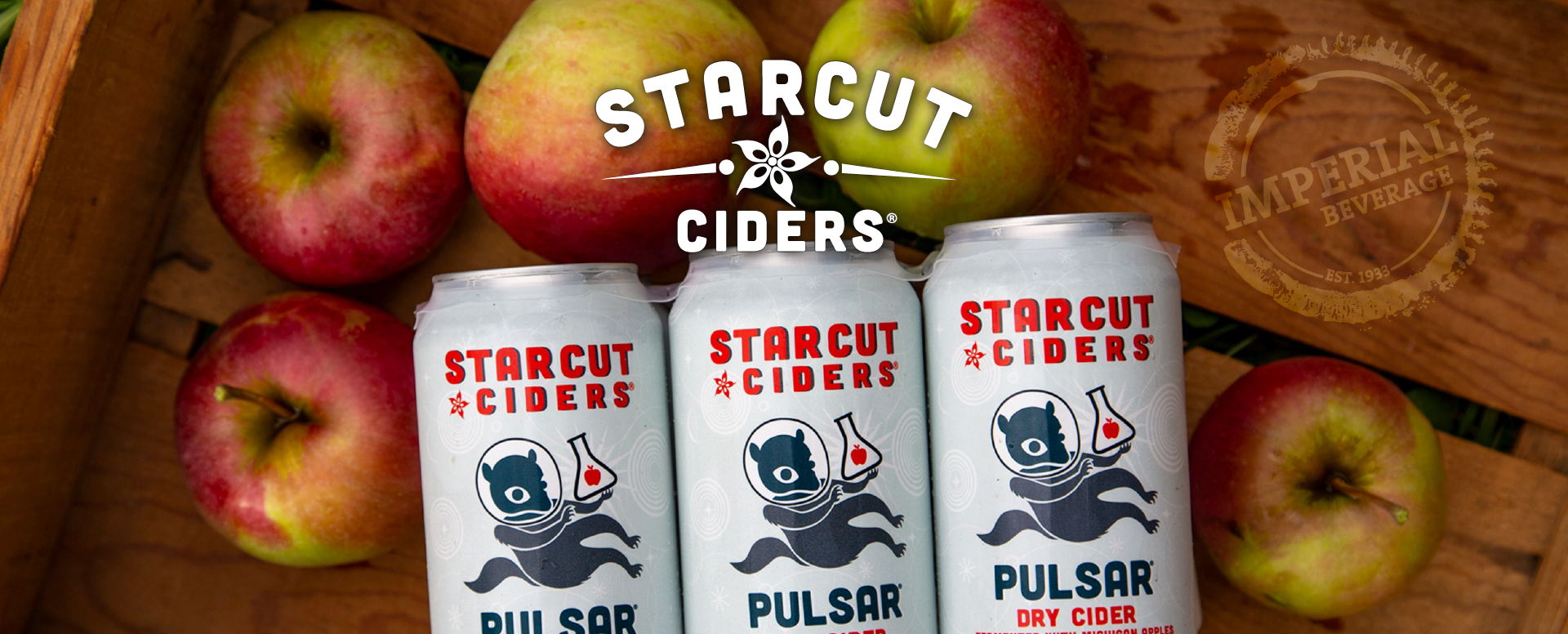 Imperial Beverage Starcut Ciders