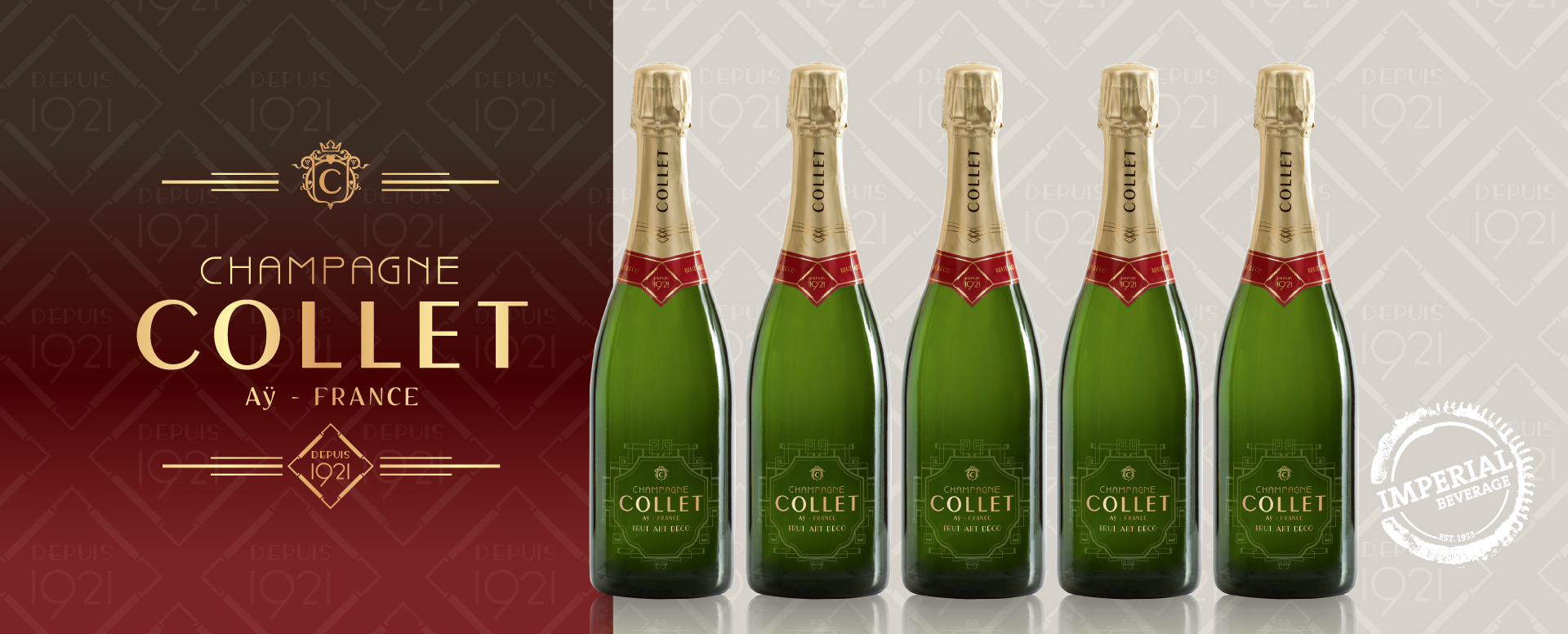 Imperial Beverage Champagne Collet