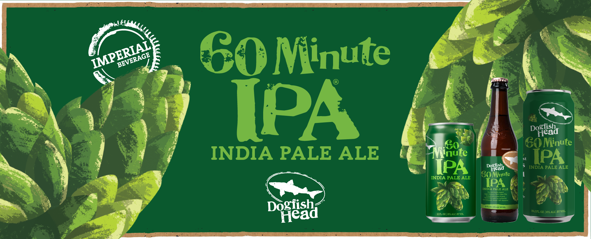 Imperial Beverage Dogfish Head